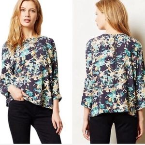 Anthropologie Sam + Lavi floral blouse